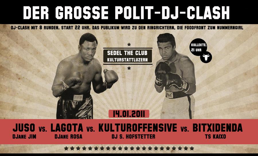 Der grosse Polit-DJ-Clash