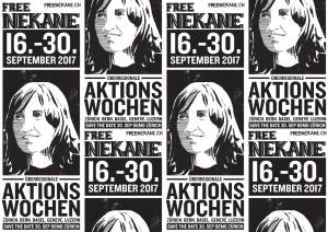 Free Nekane Aktionswochen 15.-30. September 2017