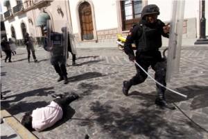 Unruhen in Oaxaca und Chiapas