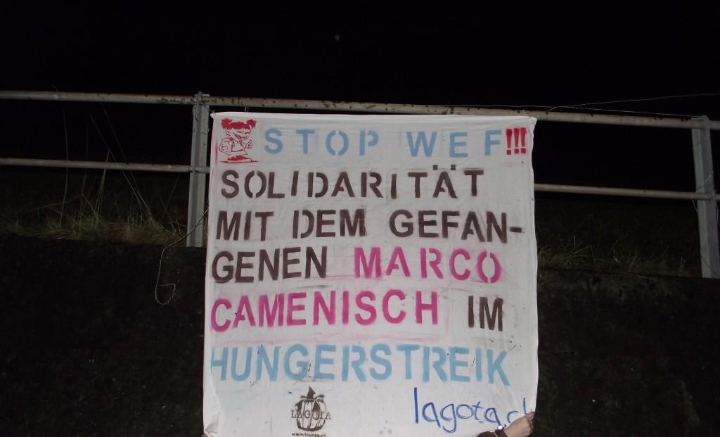 Hungerstreik Erklärung von Marco Camenisch