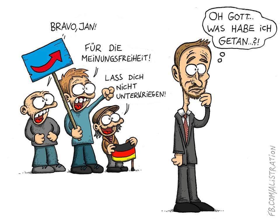 Keine Solidarität mit Böhmermann