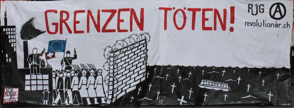20.6.: Demo gegen Rassismus und Grenzen in Fribourg