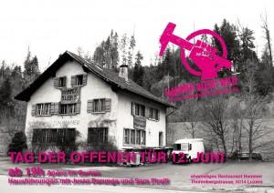 Tag der offenen Tür am 12. Juni im ehemaligen Restaurant Hammer