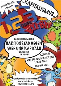 Aktionstag gegen WEF und Kapital!