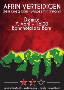Afrin verteidigen! Dem Krieg kein ruhiges Hinterland!