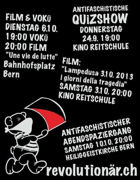 Vorprogramm vom antifaschistischen Abendspaziergang