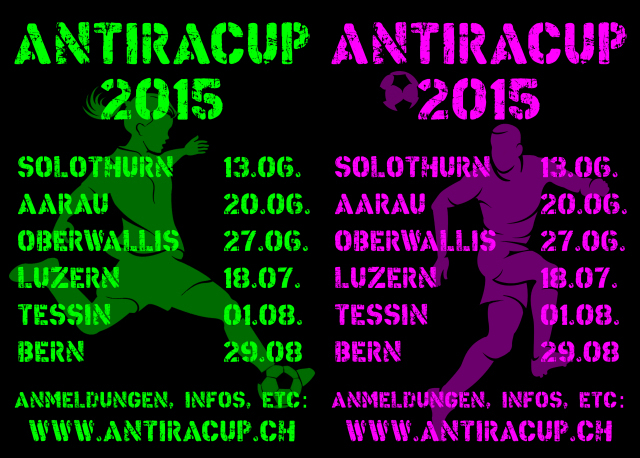Sommer, Sonne, Antira-Cups!