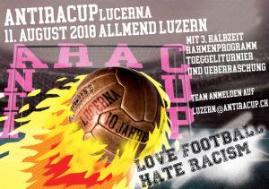 Luzern kickt am 11. August 2018 gegen Rassismus und Ausgrenzung!