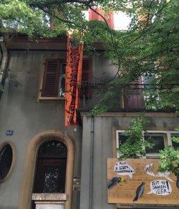 Besetzung an der Hardstrasse 112-116, Basel