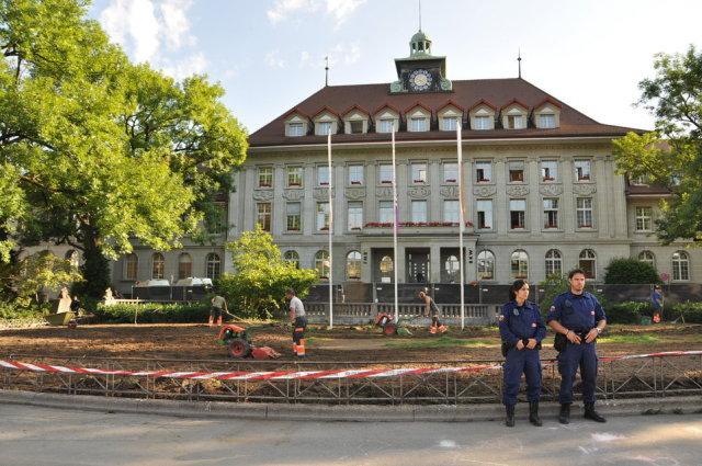 Populistisch, feige und mutlos. Zur Räumung des AKW-ADE-Camp in Bern