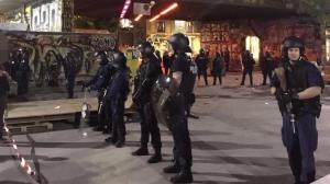 Reitschule Bern bezieht Stellung gegen Polizeibrutalität