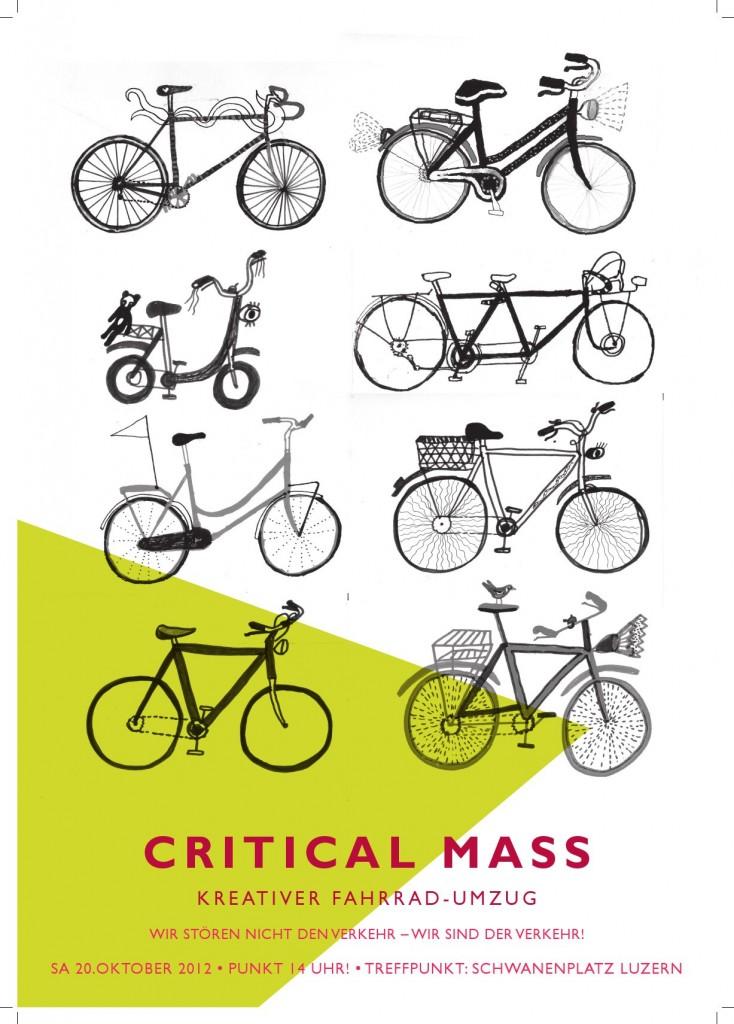 Critical Mass – Kreativer Fahrrad-Umzug