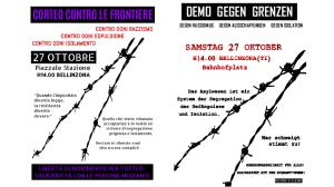 Demo gegen Grenzen