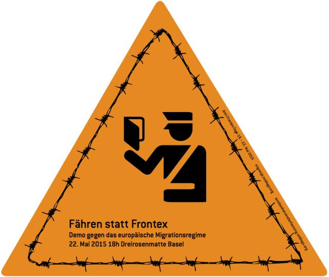 """22.05.: Demo """"Fähren statt Frontex"""" – 18.00, Basel"""