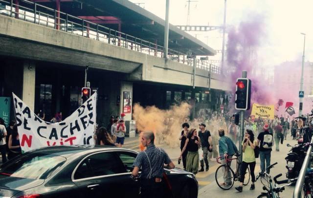 Direkte Aktionen und Demonstrationen am Flüchtlingstag