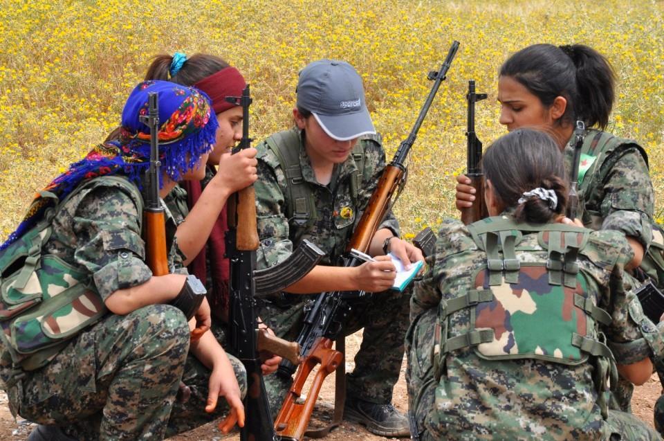 Infoveranstaltung über die Frauenbewegung in Rojava in Zürich
