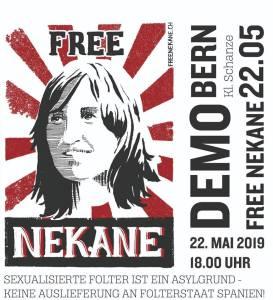 Der spanische Staat will Nekane wieder ins Gefängnis bringen!