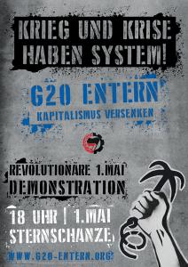 Krieg und Krise haben System – G20 entern Kapitalismus versenken!
