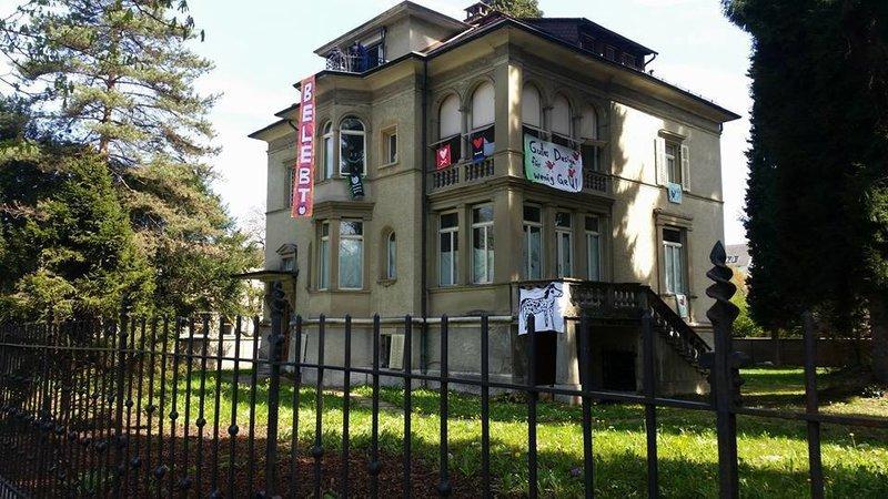 Gundula muss leben! Für ein alternatives Kulturzentrum in Luzern.