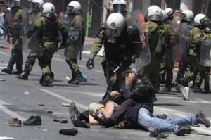 Generalstreik in Griechenland, 11. Mai