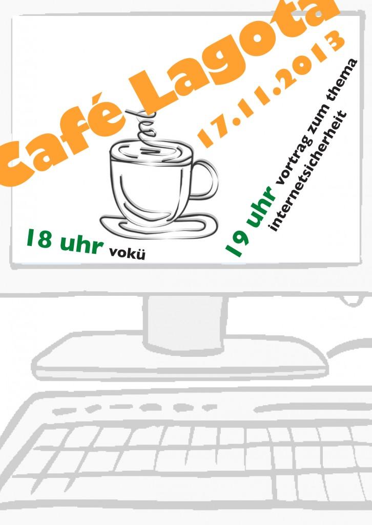 Café Lagota am 17. November: Vortrag zum Thema Internetsicherheit