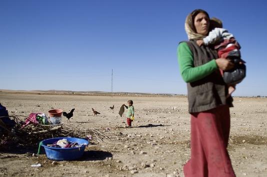 Kobanê: An der Seite der Flüchtlinge stehen