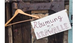 """""""Räumung=Krawalle"""""""