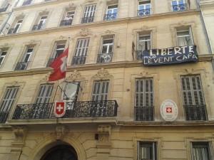 Schweizer Konsulat in Marseille besetzt – Solidarität mit Levent Capa!