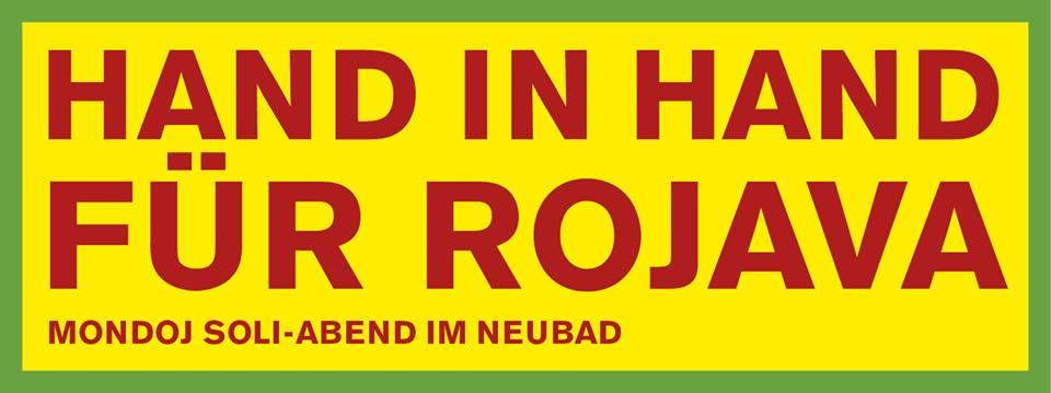 Mondoj Soliabend – Hand in Hand für Rojava