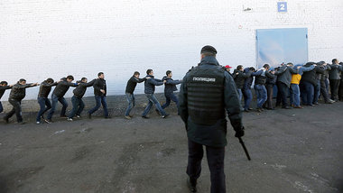Pogrom in Moskau