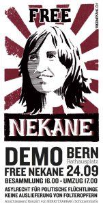 Free Nekane Demo in Bern (24.9.2016)
