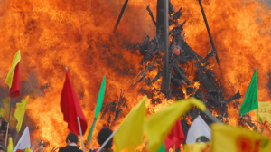 Demonstration zu Newroz in Luzern