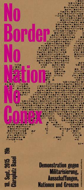 Basel: Demo NoBorder – NoNation – NoConex