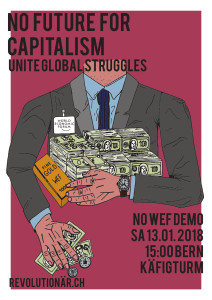 NO FUTURE FOR CAPITALISM – NOWEF DEMO 13.01.2018