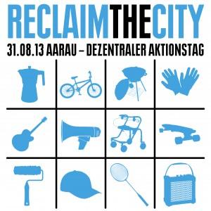 Dezentraler Aktionstag in Aarau