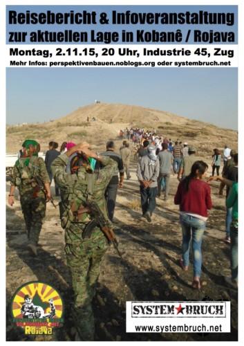 Reisebericht aus Kobane bzw. Rojava