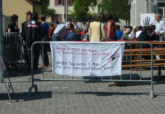 Jeden Tag einen 1. Mai – Sauvage in Aarau