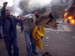 Ägypten: Strassenschlachten und Tote in Suez