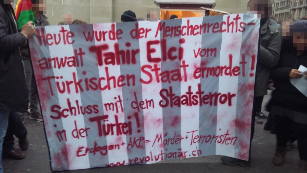 Gegen die Ermordung des Menschenrechtsanwaltes Tahir Elçi – Nicht die PKK, die türkische Regierung ist der Terrorist!