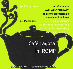 """Café Lagota am 19.2.: """"wer wenn nicht wir"""""""