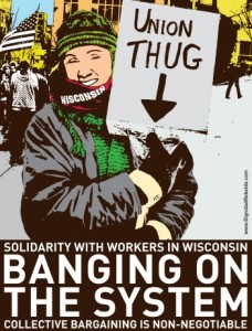 Solidarität mit den ArbeiterInnen in Wisconsin!