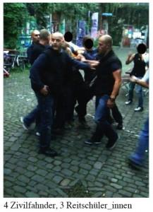 Reitschule Bern wehrt sich gegen Polizeiangriff und -hetze